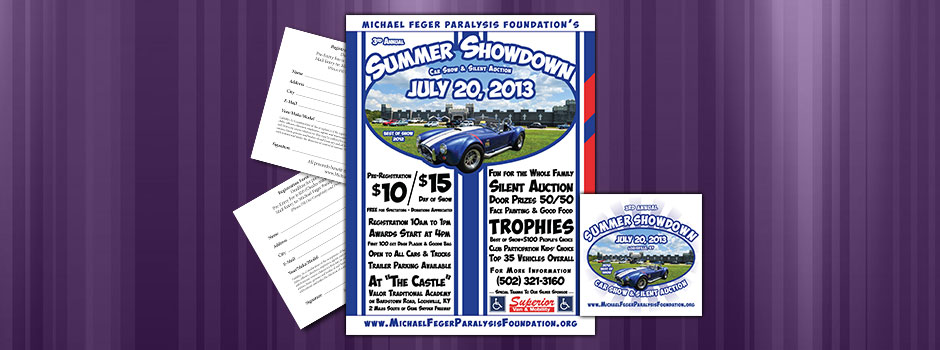 2013 Summer Showdown Car Show Graphics